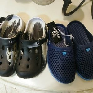 2 pairs of new kids sandals.